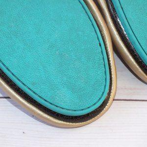Tieks Shoes - TIEKS METALLIC CHAMPAGNE GOLD SIZE 10 LE Worn Once